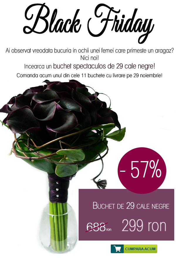 flori blackfriday Black Friday la Florariile Online